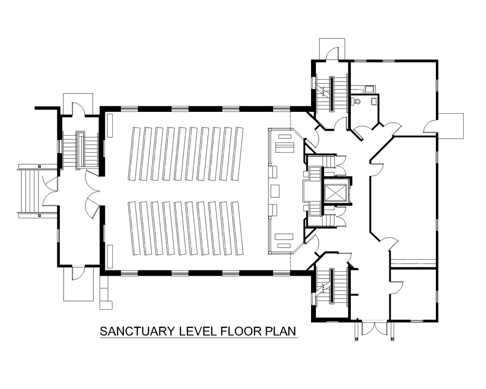 Church sanctuary floor plans joy studio design gallery for New building design plan